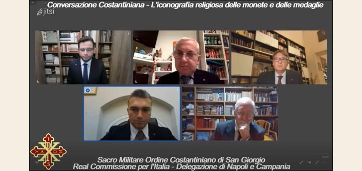 """On-line la Conversazione costantiniana """"L'iconografia religiosa delle monete e delle medaglie"""""""