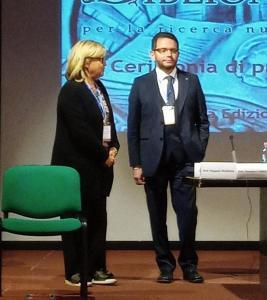 Il dottor Luca Lombardi e la dottoressa Eugenia Vantaggiato