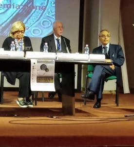 Da sinistra: la dottoressa Eugenia Vantaggiato, il dottor Giuseppe Ruotolo e il professor Giancarlo Alteri